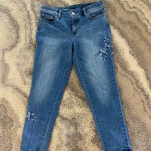 Talbots Flawless Girlfriend Ankle Jeans